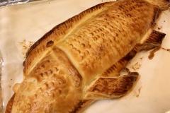 【リヨン】スズキのパイ包み ソースショロン(要予約)パーティーにいかがですか